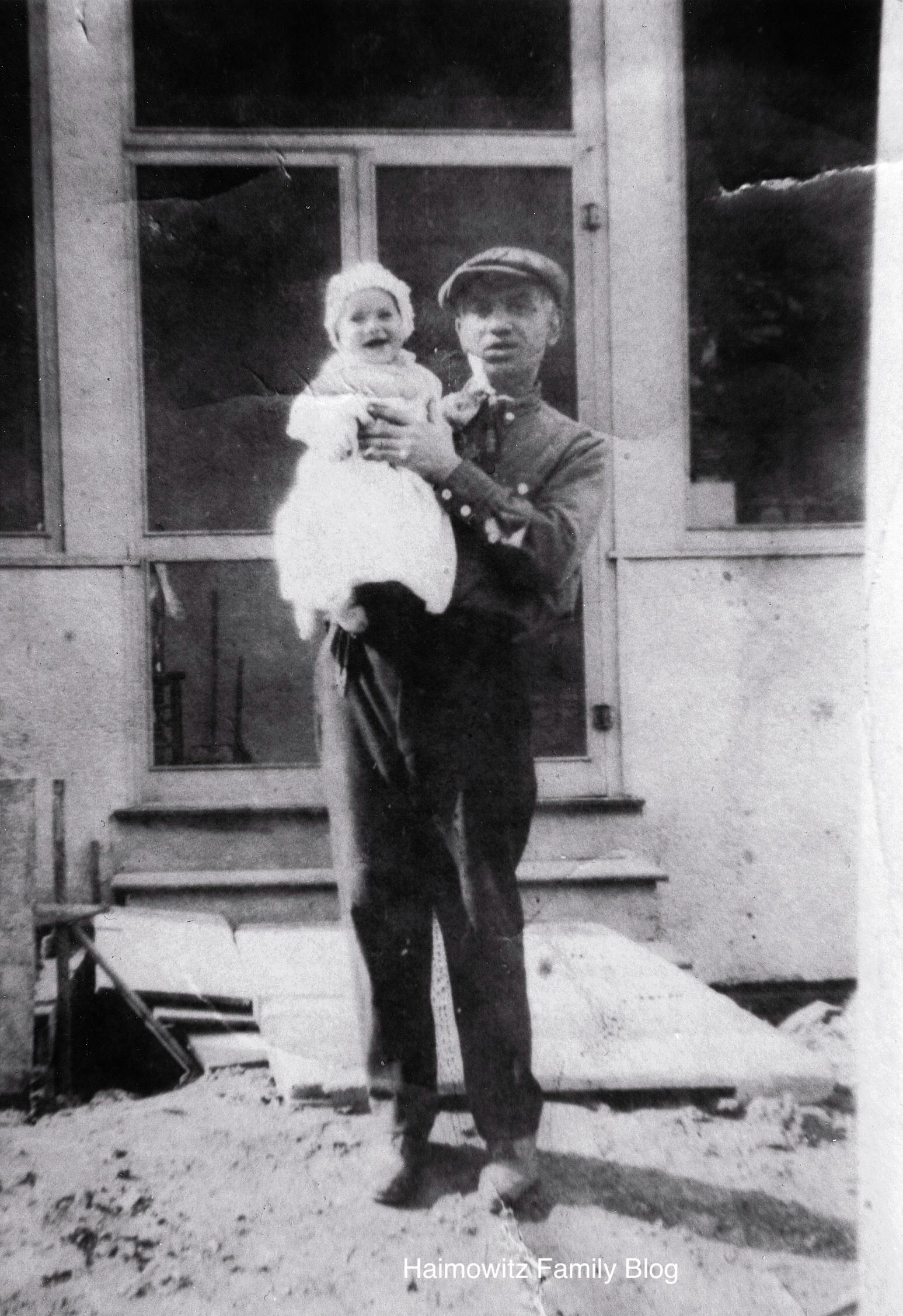 William holding Marion copy
